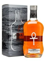 Jura superstition bottle design